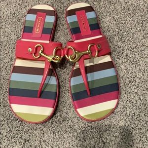 Coach Shoes - Coach sandals NWOT
